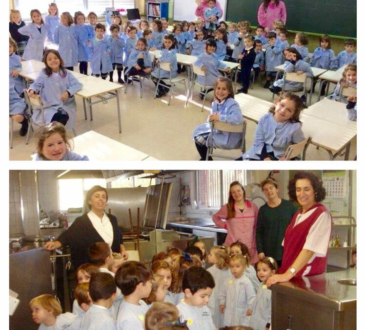 1º de Educación Infantil descubre el colegio
