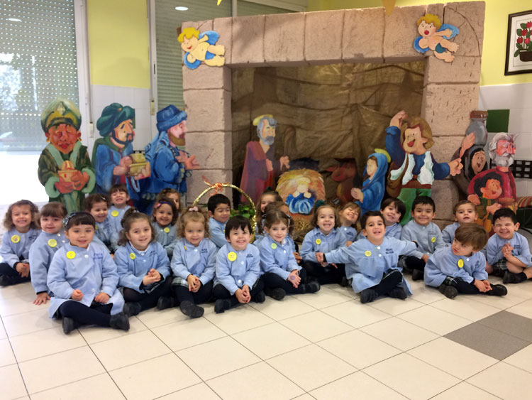 1º de Educación Infantil, línea A, en su último día de trimestre