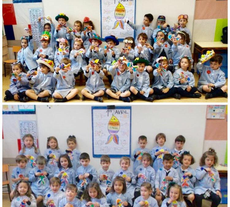 """2º de Educación Infantil celebra """"Poisson dávril"""""""