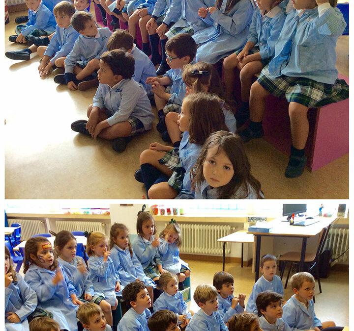 Fotos de inicio de curso, Segundo y Tercero de Educación Infantil
