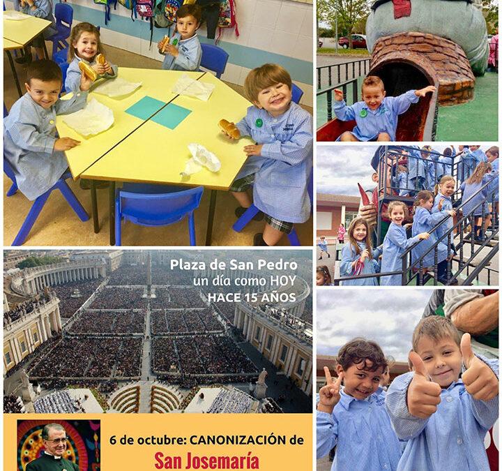 Educación Infantil celebra la Fiesta de San Josemaría