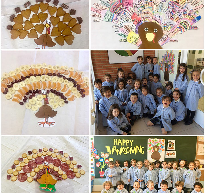 Educación Infantil celebra la fiesta de Thanksgiving.