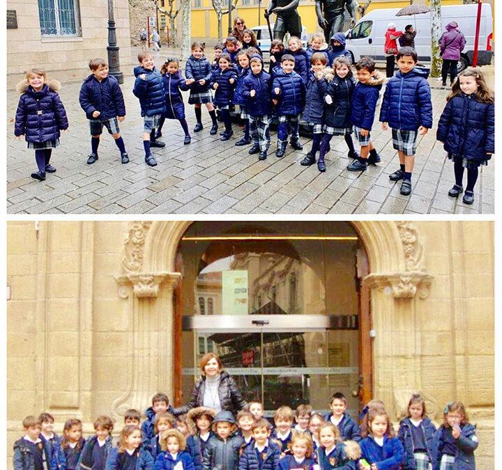 Salida cultural de 3º de infantil al Museo de La Rioja