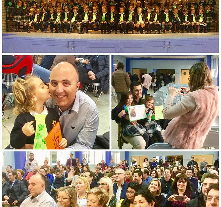 Celebración trilingüe día del padre en Infantil, Línea A