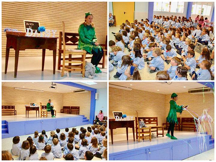 Cuenta Cuentos en 1º, 2º y 3º de Educación Infantil.