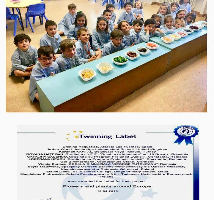 3º de Educación Infantil participa en un Proyecto internacional.