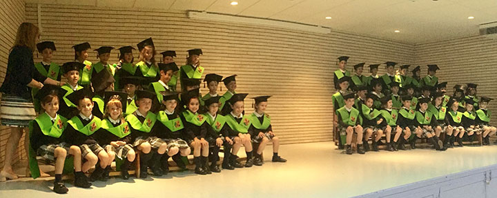 Graduación de Tercero de Educación Infantil 2018