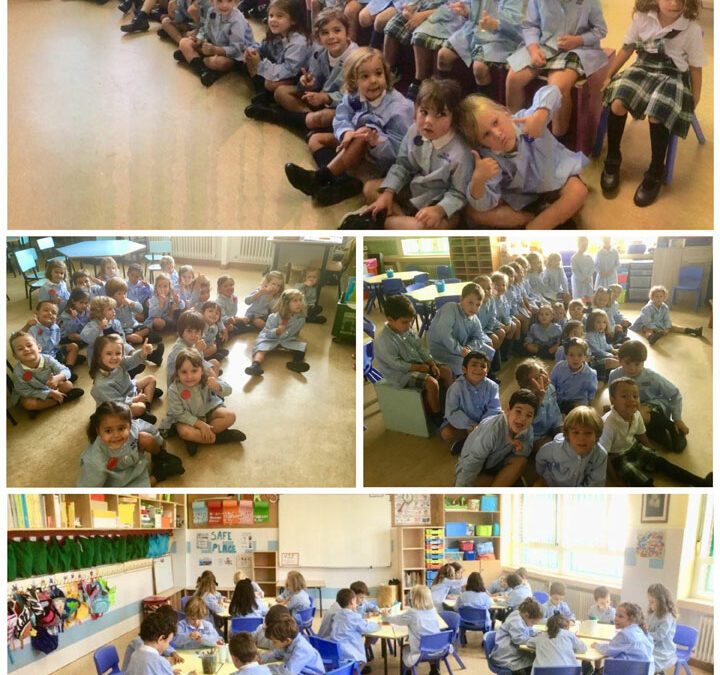 2º y 3º de Educación Infantil comienzan el curso
