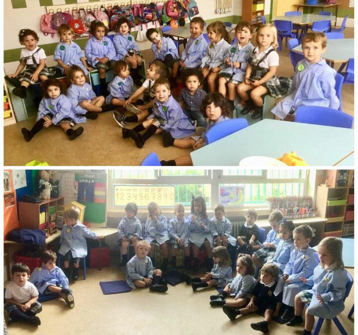 ¡Bienvenidos a Primero de Educación Infantil!