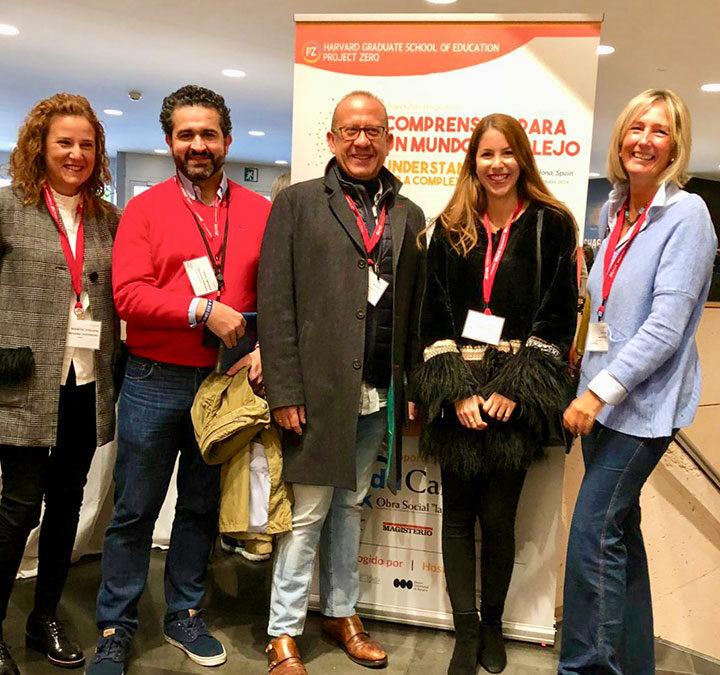 Cinco profesores de Alcaste-Las Fuentes, con los mejores del mundo, de la Universidad de Harvard