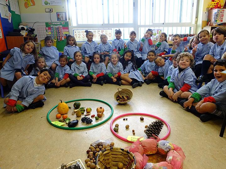Educación Infantil descubre el otoño