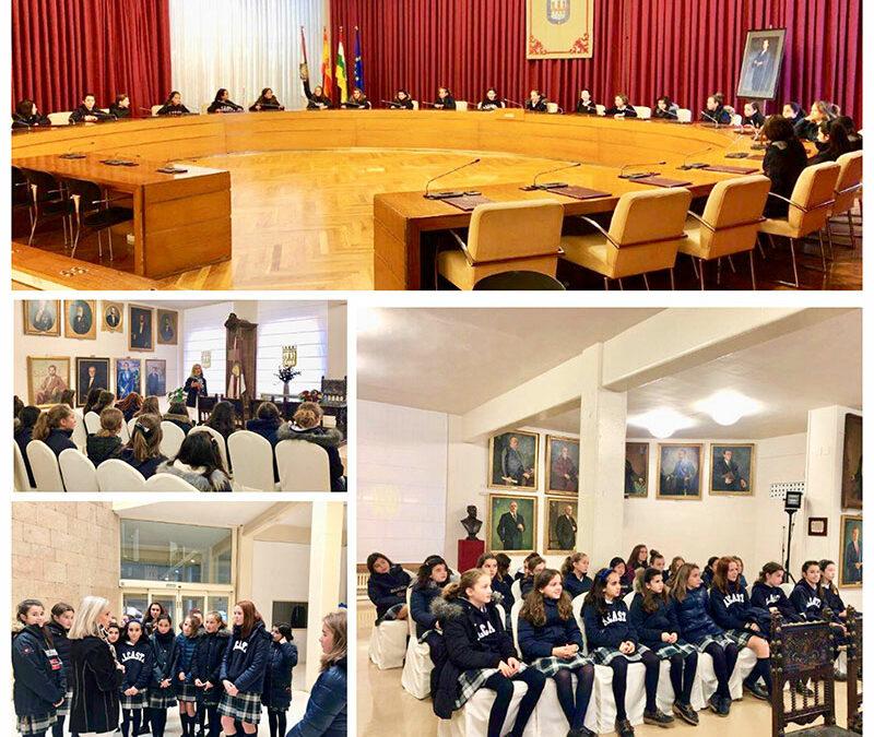 6º de Primaria en el Ayuntamiento de Logroño