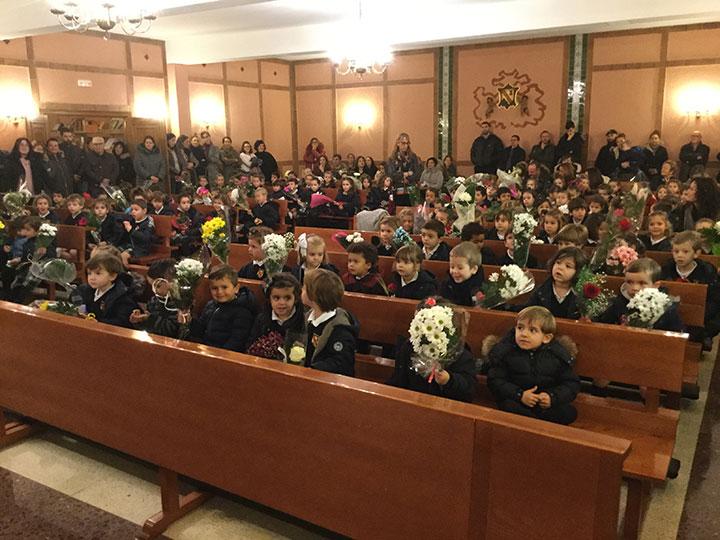 Infantil celebra la fiesta de la Inmaculada