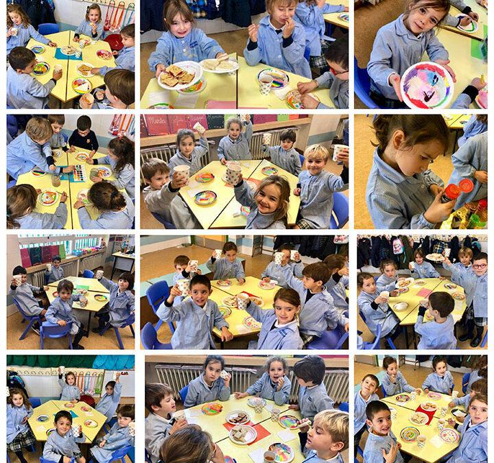 """""""Tea party"""" en 3º de Infantil, Línea B"""