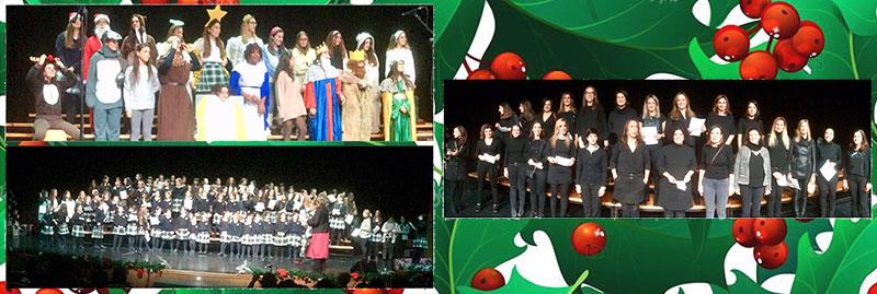 Festival de Navidad de Primaria, ESO y Bachillerato