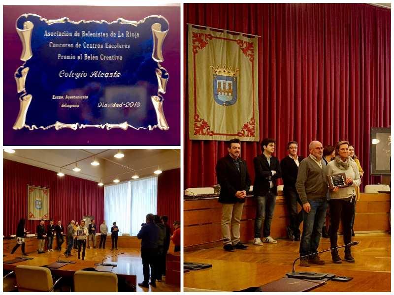 La Asociación de Belenistas otorga a Alcaste el premio al Belén más creativo