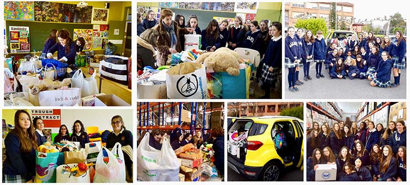 Gracias a todas las familias y alumnas por vuestra colaboración en las diferentes Campañas de Navidad