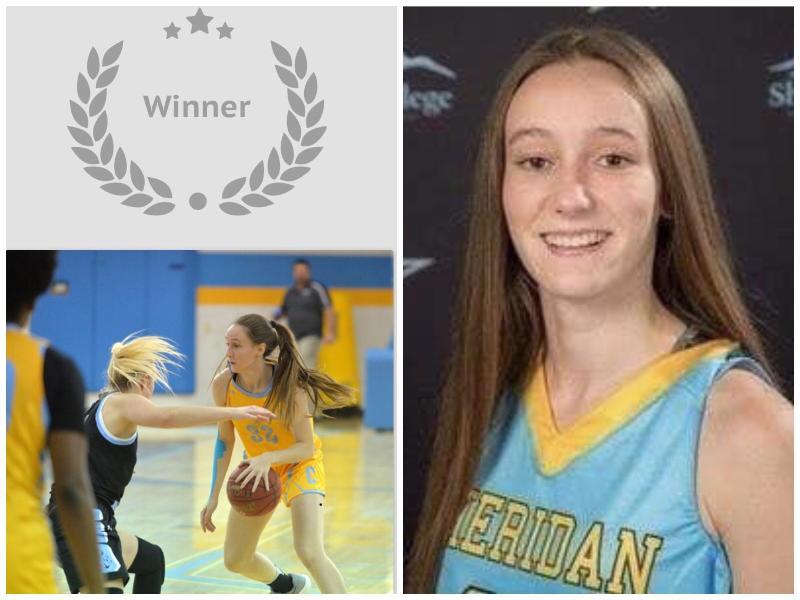 Sara Oca, Antigua Alumna de Alcaste, mejor atleta de la semana en el condado de Sheridan