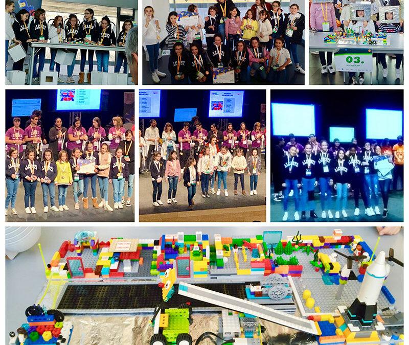 Alumnas de Alcaste participan en el Proyecto Educativo FIRST LEGO