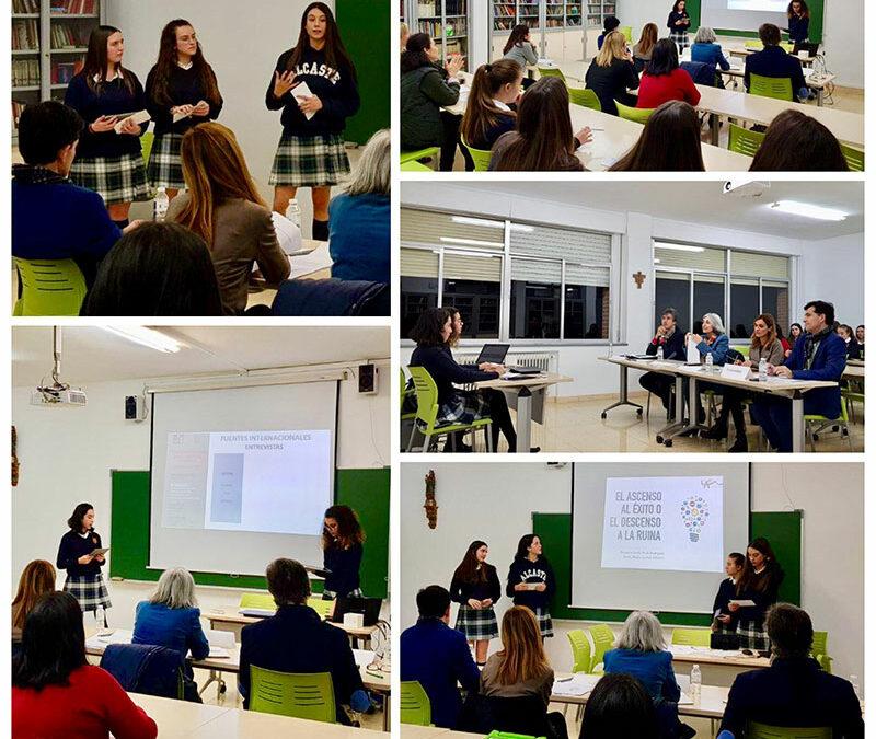 Defensa de los trabajos Excellence ante el Consejo Asesor de Alcaste-Las Fuentes