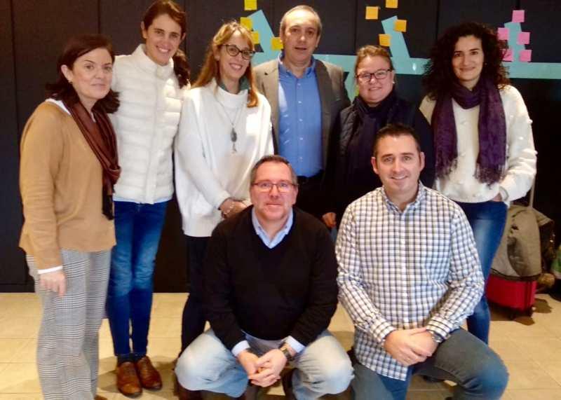 Profesoras de Educación Infantil, en las jornadas de formación de trabajo cooperativo en Bilbao
