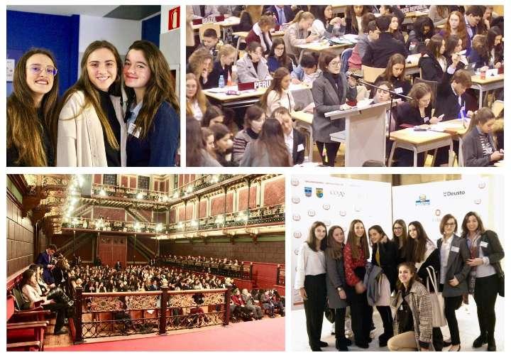 Alumnos del Colegio Alcaste – Las Fuentes asistieron a MUN Bilbao 2019