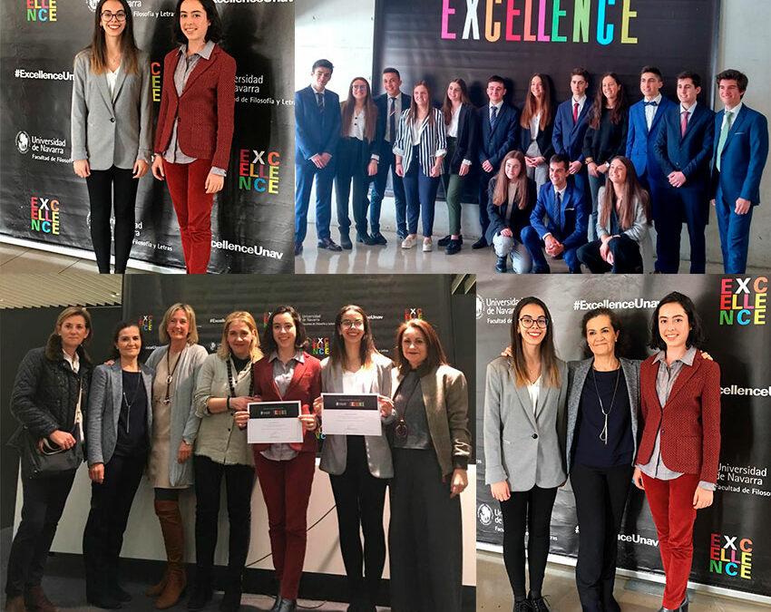 Dos alumnas de Alcaste reciben mención de honor por su defensa del proyecto de Excellence