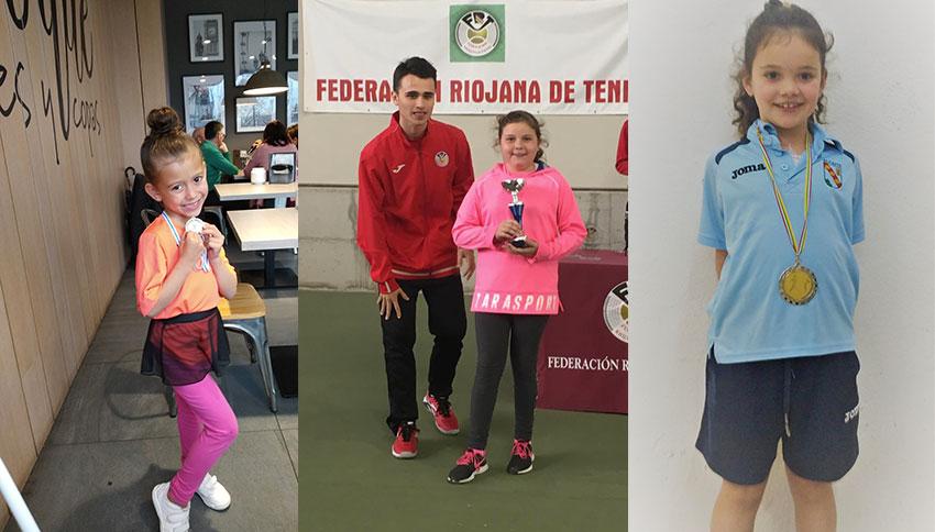 Gimnasia rítmica, tenis o karate, ¡enhorabuena a nuestras tres campeonas!