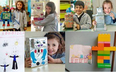 """Alumnos de Infantil participan en el Concurso """"Diseña tu Robot"""""""