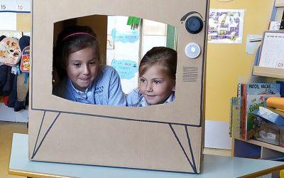 Educación Infantil descubre el mundo de la comunicación