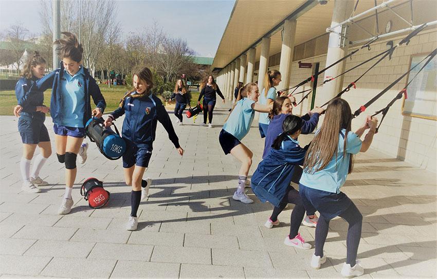 Flavia Allo, Profesora de Educación Física de Secundaria, nos cuenta las actividades deportivas realizadas este curso