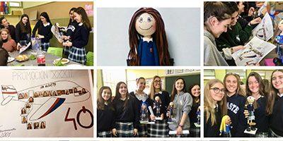 Despedida a las alumnas de 2º de Bachillerato, de la XXXII Promoción