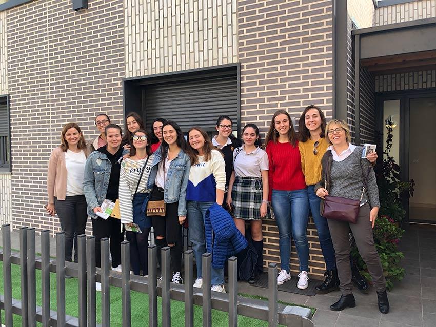 "Bachillerato conoce la primera ""Casa pasiva"" unifamiliar edificada en La Rioja"