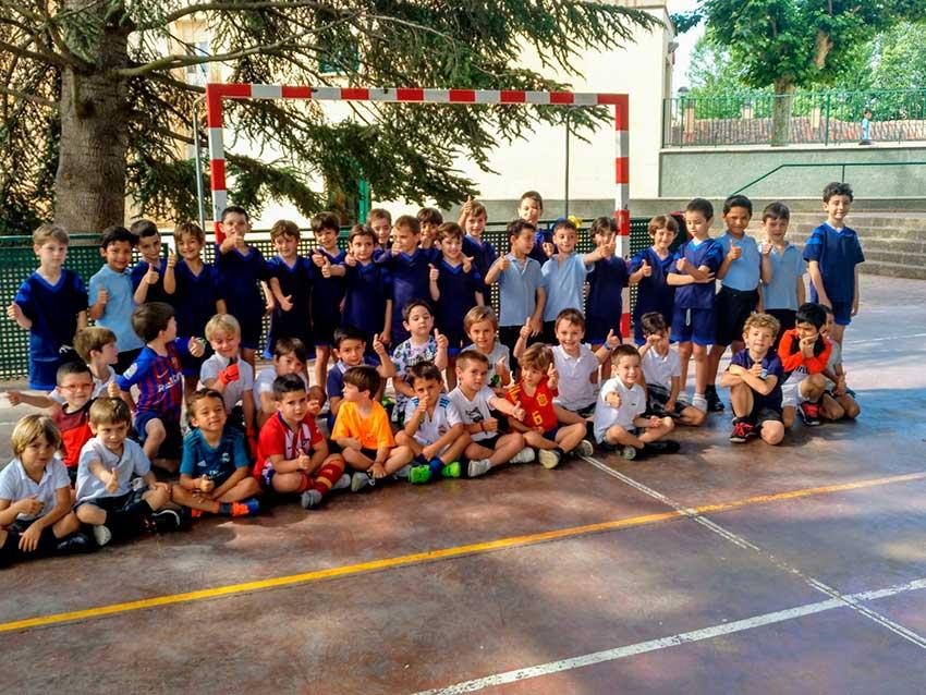 """Los alumnos de 3º de Infantil conocen """"Las Fuentes"""", su nueva sede para el curso próximo"""
