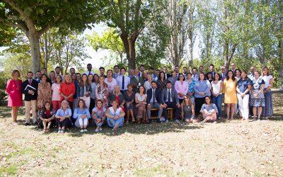 ¡Todos los profesores de Alcaste-Las Fuentes preparados para el inicio de este nuevo curso!