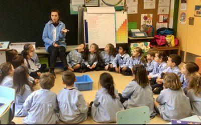 3º de Infantil aprende el principio de Arquímedes