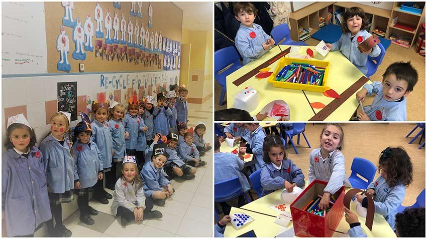 Día de Acción de gracias en Educación Infantil