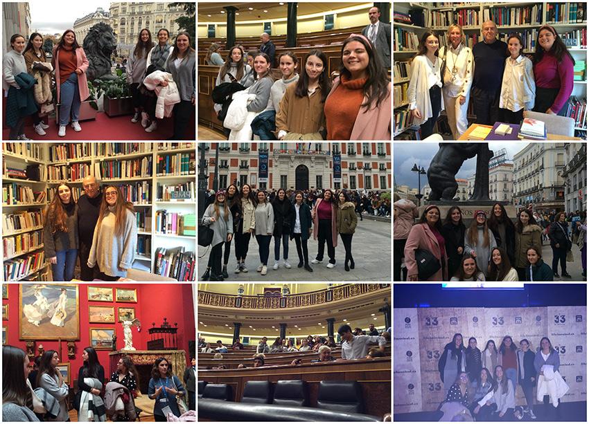 Alumnas Excellence, de viaje cultural a Madrid