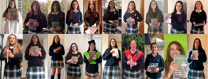 Las alumnas se gradúan en casa