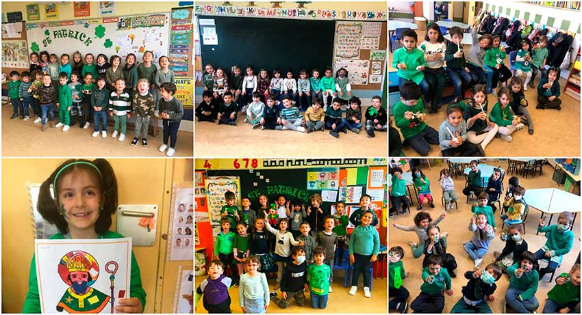 Celebramos Saint Patrick's Day en Infantil
