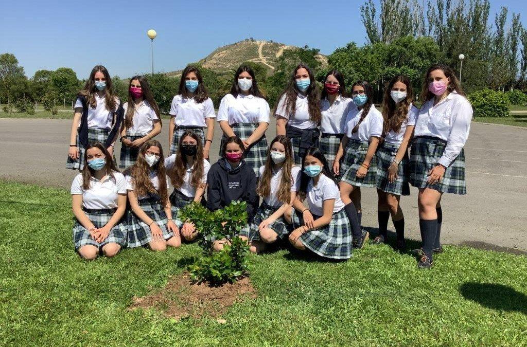 Despedida a las alumnas de 2º de Bachillerato, de la 34 Promoción de Alcaste (2020-2021)