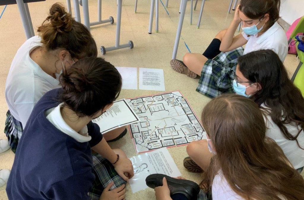 Sesiones de la Universidad de Navarra a alumnos de 1º de Bachillerato