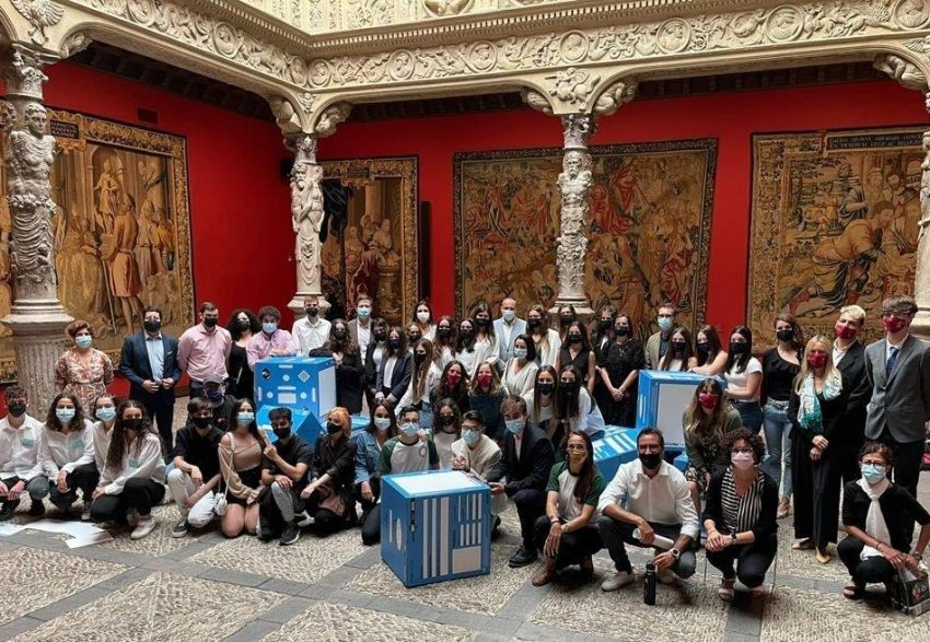 Alumnas de 4º de ESO en la gran final del reto emprendedor de la Fundación Princesa de Girona